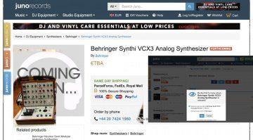 Behringer VCX3