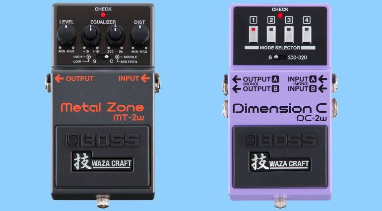 Boss Waza Craft DC-2w MT-2w Metal Zone Dimension C PEdale