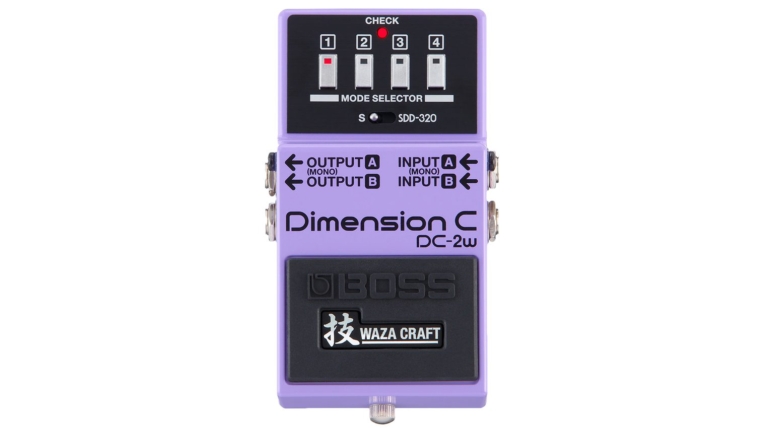 Boss Waza Craft Dimension C DC-2w Effekt PEdal
