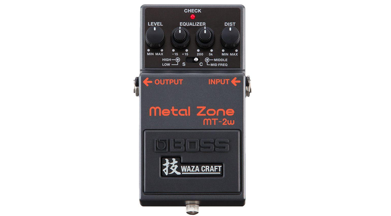 Boss Waza Craft Metal Zone MT-2w Effekt PEdal
