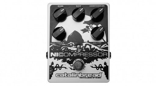 Der Catalinbread NiCompressor in White Soft Pearl.