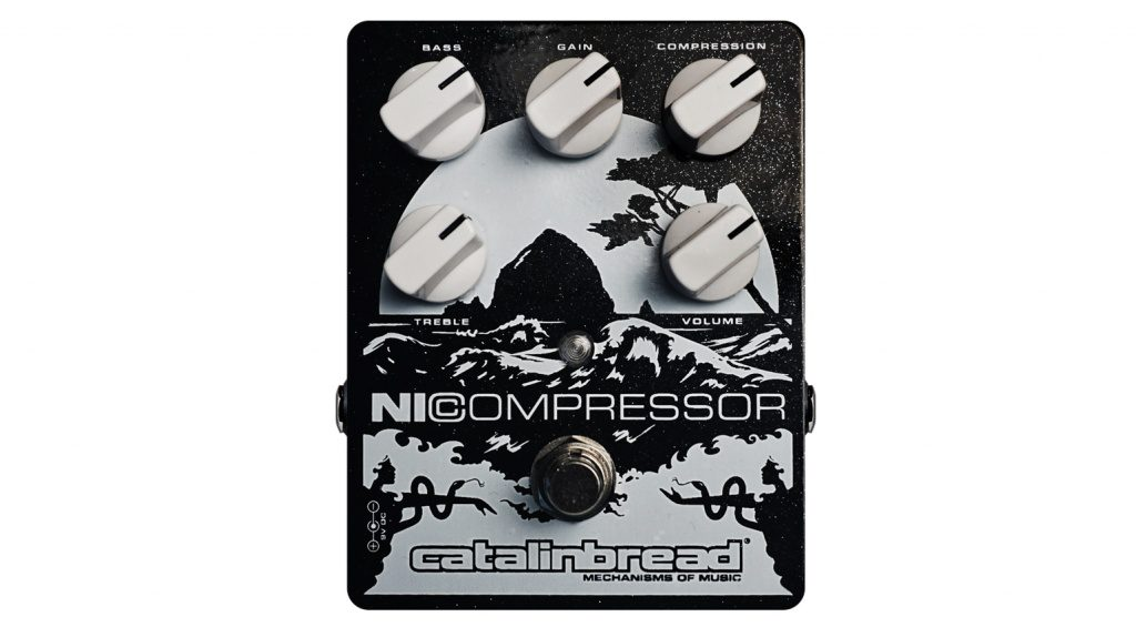Der Catalinbread NiCompressor in Black & Silver.