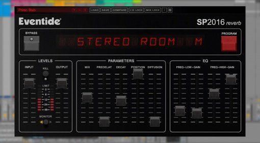 Eventide SP2016 Reverb Time Machine