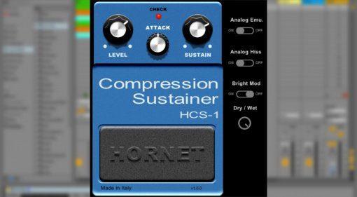 HoRNet HCS-1 emuliert das Boss CS-1 Pedal