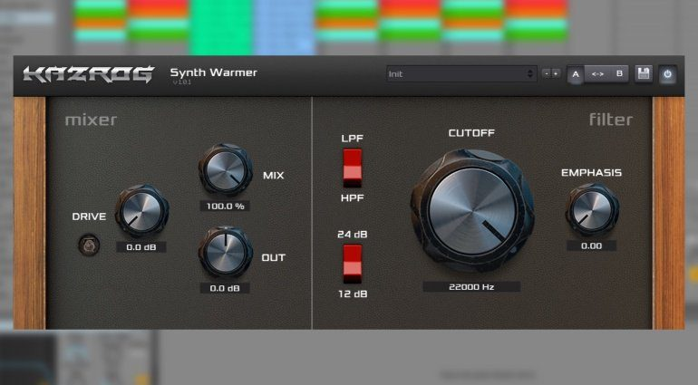 Kazrog's Synth Warmer heizt euren digitalen Synthesizern ein