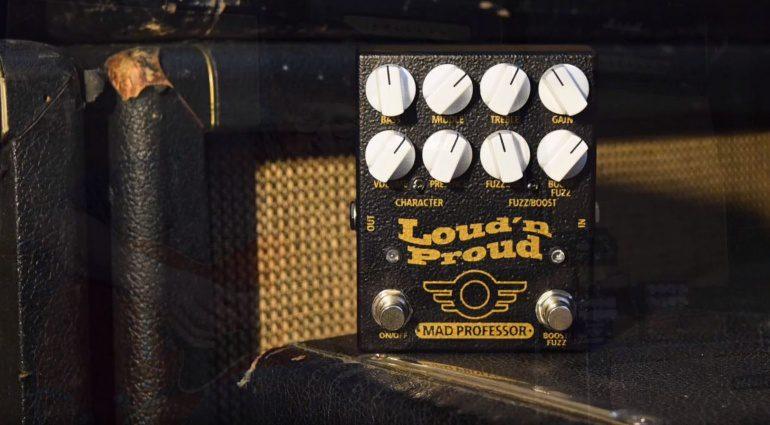 Mad Professor Loud n Proud Overdrive Fuzz Marshall Plexi Effekt Pedal