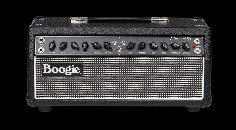 Mesa Boogie FIllmore 25 Head Topteil Front