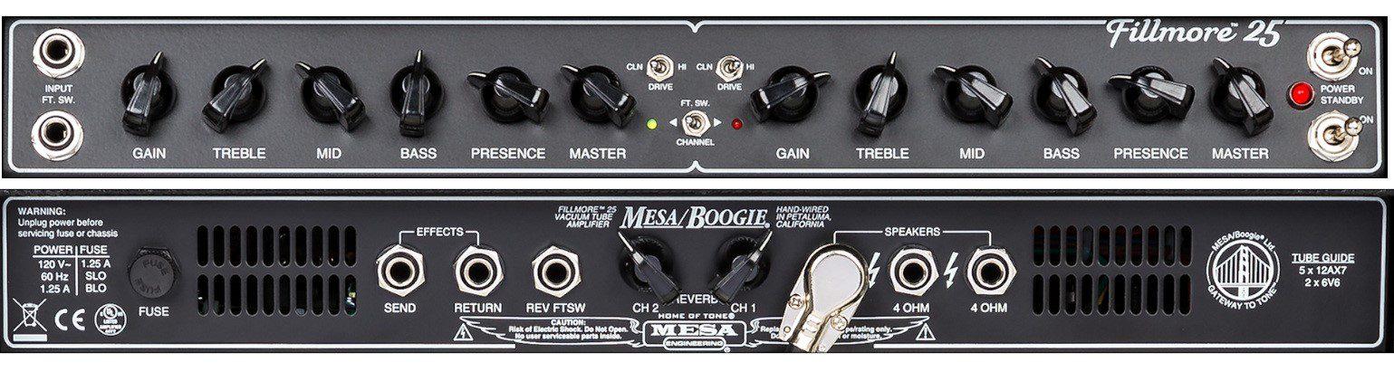 Mesa Boogie FIllmore 25 Panel