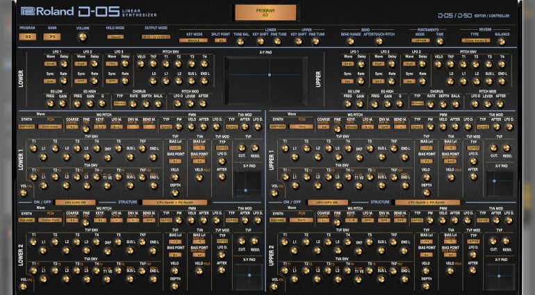 Momo Müller veröffentlicht Roland D-05 und D-50 Editor Controller
