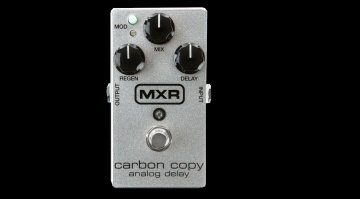 MXR Carbon Copy 10th Anniversary Analog Delay Effekt PEdal