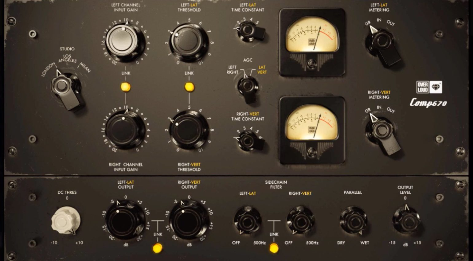 Overloud Introduces Comp670 - Tube Compressor Limiter beyond the