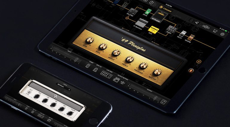 Positive Grid BIAS FX Mobile Universal iPhone iPad Amp Emulation Simulation