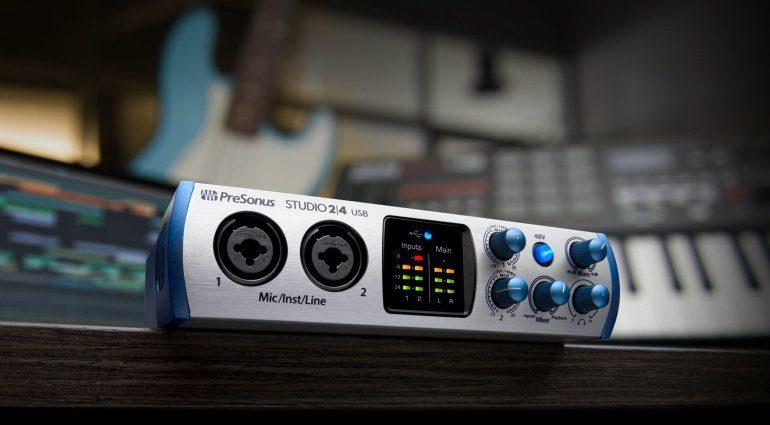 Presonus Studio 24 Audiointerface USB-C
