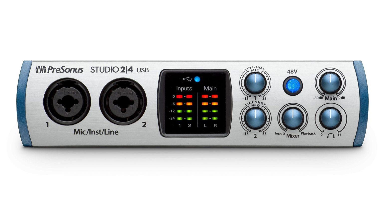 Presonus Studio 24 Audiointerface USB-C Front