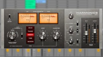 Softube Harmonics vereint Transient Shaper mit Distortion und Tape Sound
