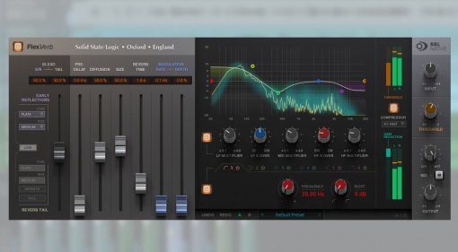 Solid State Logic SSL FlexVerb Plug-in