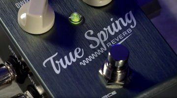 Source Audio True Spring Effekt PEdal Reverb Front
