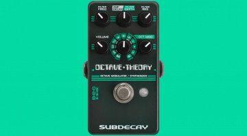 Subdecay Octave Theory Effekt PEdal