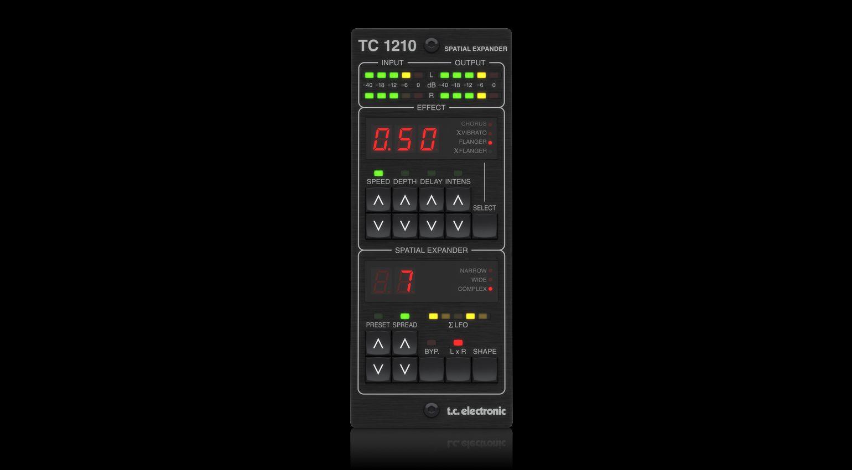 TC Electronic TC1210 Reverb Controller Plug-in Effekt