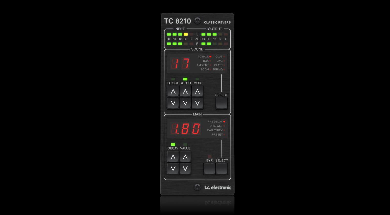 TC Electronic TC8210 Reverb Controller Plug-in Effekt