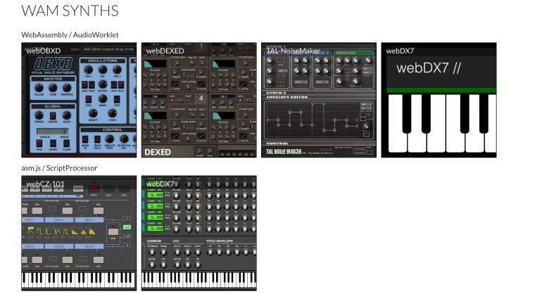 Web Audio Modules lässt euch VST-Plug-ins im Web-Browser spielen