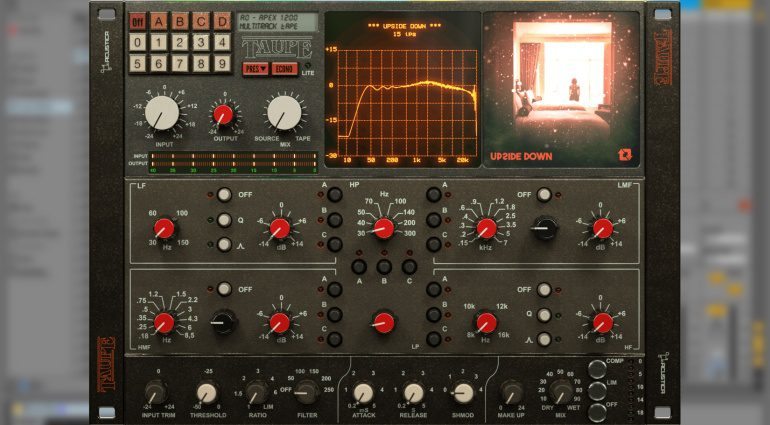 Acustica Audio will mit der Tape Simulation Taupe den Sound in andere Sphären heben
