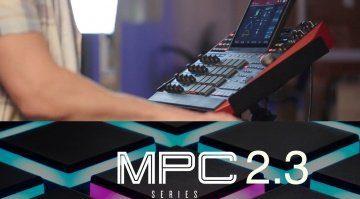 Mausert sich Akai's stand-alone MPC jetzt zur ultimativen DAW? MPC 2.3 ist da!