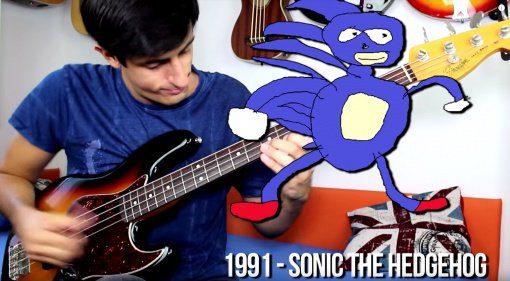 Davie504 Videospiele Soundtrack Bass Cover