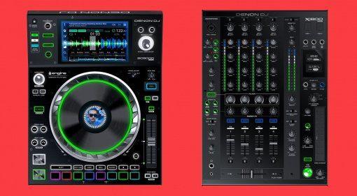 Großer Rabatt auf SC500, SC5000M und X1800 von Denon DJ in den USA