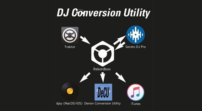 ATGR DJCU: DJ Conversion Utility