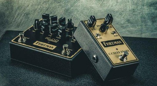 Friedman BE Dual Overdrive Golden Pearl Pedal Effekt