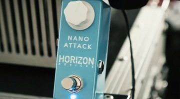 Horizon Devices Nano Attack Effekt Pedal Distortion
