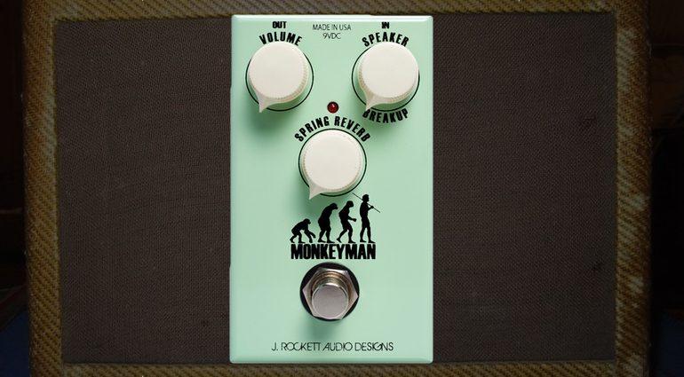 J Rockett Audio Designs Monkeyman Effekt Pedal