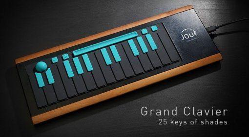 Joué - der portable Multi-Controller für Nomaden bekommt ein 25-Tasten Grand Clavier