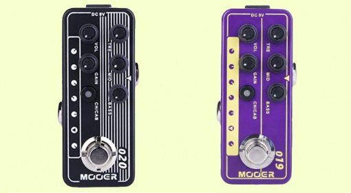Mooer Micro Preamp 019 UK Gold Plex 020 Blueno