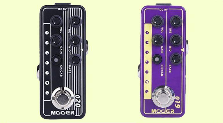 Mooer Micro Preamp 019 UK Gold Plex 020 Blueno