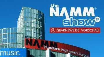 NAMM Show 2019 Preview Teaser Gearnews