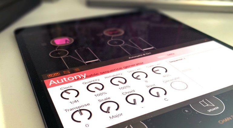 Die iOS Sequencer-App Autony ist künstlerisch unzuverlässig - das macht Spaß!