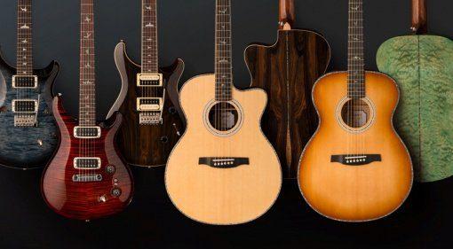 PRS Gitarren-Lineup für 2019