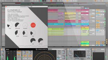 Puremagnetik Clonemeld - Delay Sampler mit Phrasen-Manipulation