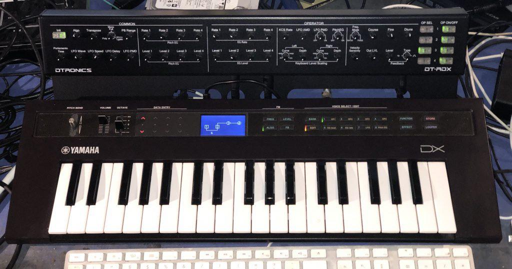 Yamaha Reface DX + Programmer DTX