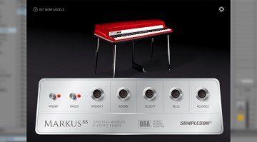 Das Fender Rhodes aus dem Spektrum - Sampleson Markus 88