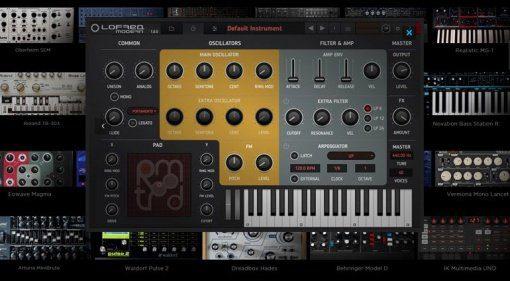 Tracktion erweitert RetroMod mit vielen Klassikern und ultra-modernen Synthesizern