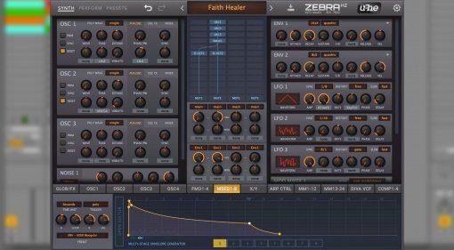 U-He veröffentlicht ZebraHZ 2.8 mit neuer GUI und mehr!
