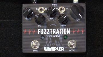 Wampler Fuzzstration Octave Fuzz Effekt Pedal Front