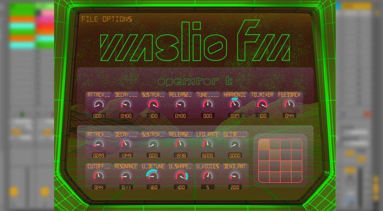 FM-Synthese auf die einfache Art mit Waslio FM
