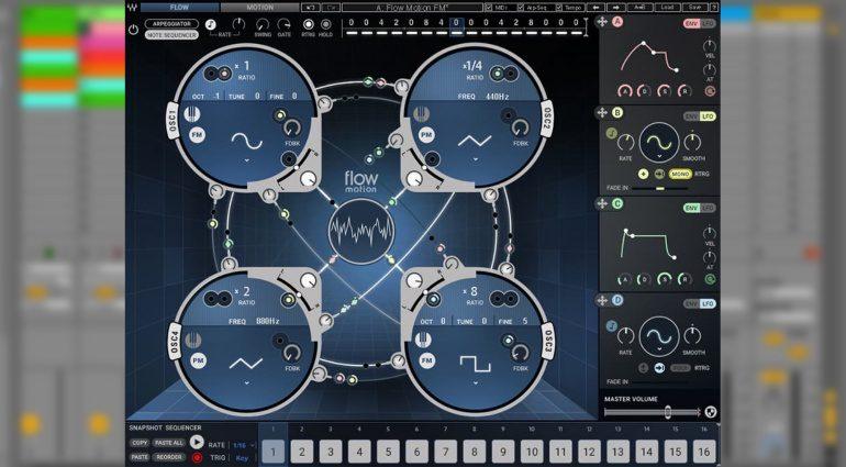 Frequenz Modulation in komplexer Einfachheit - Waves veröffentlicht Flow Motion FM Synth