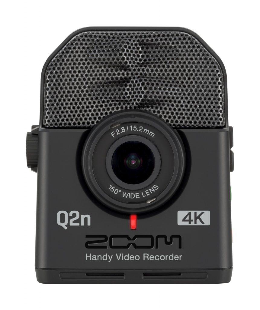 Zoom Q2n 4K front
