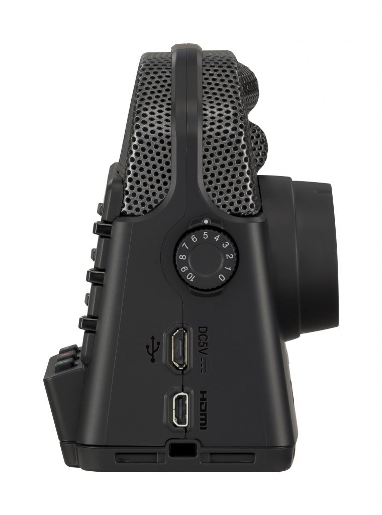 Zoom Q2n 4K Right side