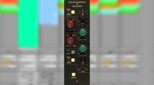 Analog Obsession TREQ - ein günstiger Trident EQ für den Rechner!